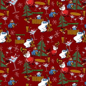 Christmas Jazz - Poinsettia Red