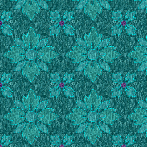 floral-sq2-Adobe1998-bluerbrighter-sweater-fills-coatcolors1n2-dpredviol-accent-darkrichturqsweater-EMBROID fabric by mina on Spoonflower - custom fabric