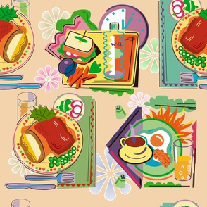 square meals peachy