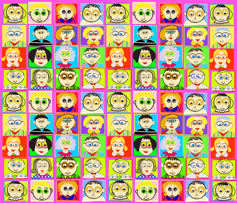 SOOBLOO_NEW_FACES_HP-01 fabric by soobloo on Spoonflower - custom fabric