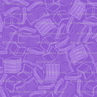 So Many Books... (All Purple)