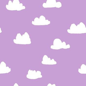 clouds // pastel purple clouds cute girls