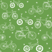 bicycles // grass green summer bike bicycles fresh eco boho design