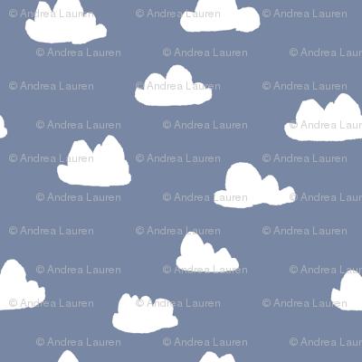 clouds // blue cute nursery baby sky