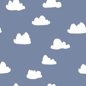 clouds // blue cute nursery baby sky