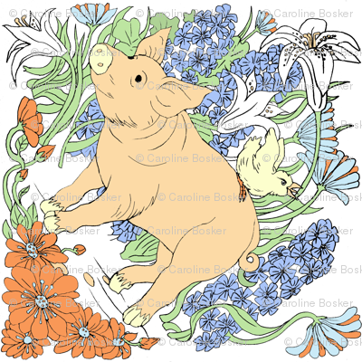 Marigold the Pig Design
