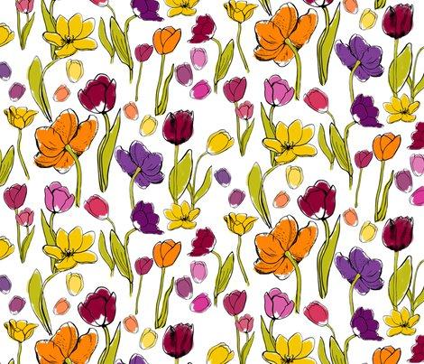 Rfunky_tulips_half_drop_tile150_shop_preview
