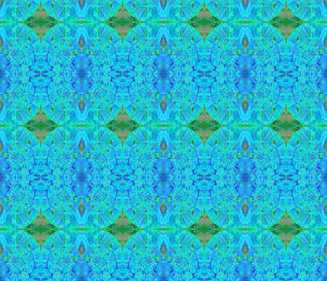 Blue Eyed Nautilus fabric by guylas_coastal_creations on Spoonflower - custom fabric