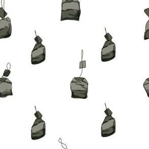 Tea Bags Dark Olive