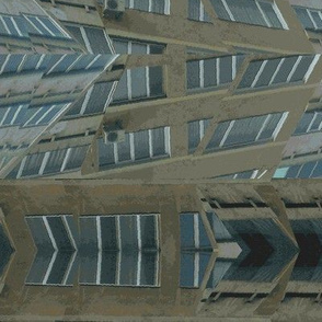 Skyscraper Windows Fragmentary