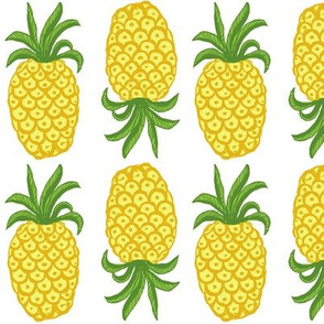 Pineapple summer bright,  Greenery Topsy Turvy Summer Fruit