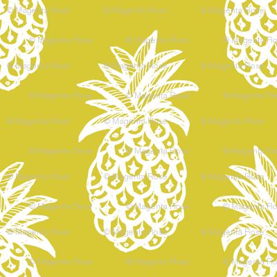 Pineapple Mustard yellow