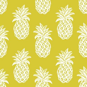 Pineapple Mustard yellow