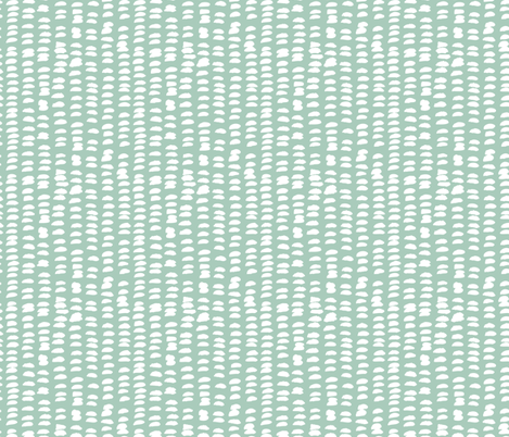 Pastel love brush strokes stripes and spots hand drawn ink illustration pattern scandinavian style in soft mint XS fabric by littlesmilemakers on Spoonflower - custom fabric