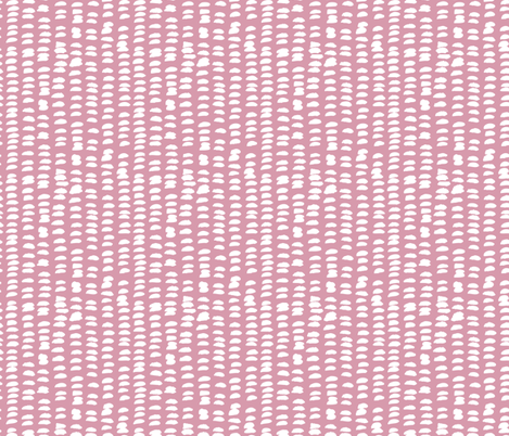 Pastel love brush strokes stripes and spots hand drawn ink illustration pattern scandinavian style in soft pink XS fabric by littlesmilemakers on Spoonflower - custom fabric