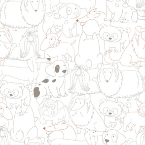 Doggies Pattern