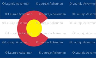 Colorado Flag Fabric
