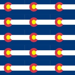 Colorado Flag Fabric
