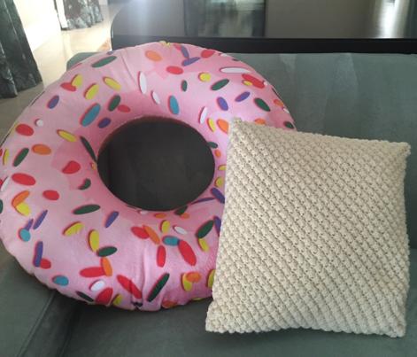 Giant Doughnut Plushie