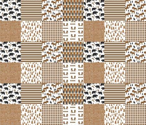 Rmoose_quilt_squares_brown_shop_preview