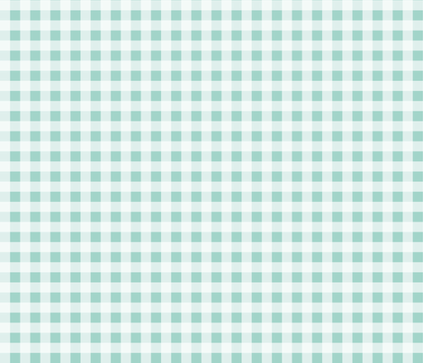 check // buffalo plaid mint kids baby coordinate gingham mint baby nursery fabric by andrea_lauren on Spoonflower - custom fabric