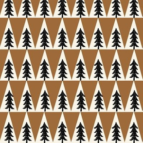 trees // brown forest trees boy scouts khaki boys boy forest trees