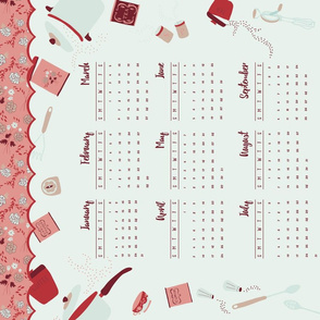 2016 Kitchen Calendar - Minx