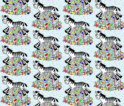 Dean & Danita's Pinata Party fabric by midcoast_miscellany on Spoonflower - custom fabric