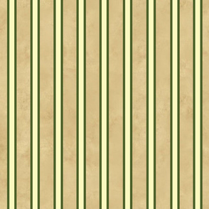 My Vegetable Garden Tan and Green Stripe