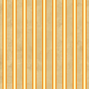 My Vegetable Garden Orange and Tan Stripe