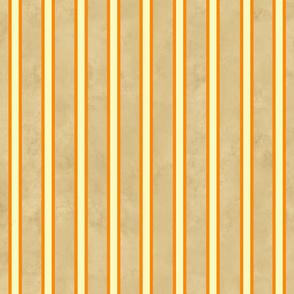 My Vegetable Garden Orange and Tan Stripe