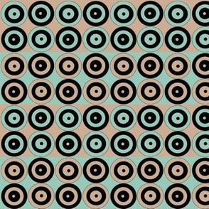 Green, Tan and Black Alternate Spots