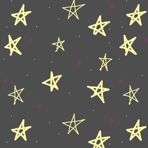Doodled Stars