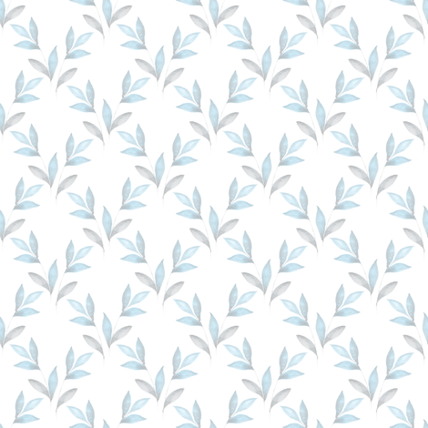 Pastel floral pattern fabric by gribanessa on Spoonflower - custom fabric