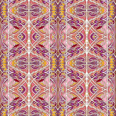 Free Spirits fabric by edsel2084 on Spoonflower - custom fabric