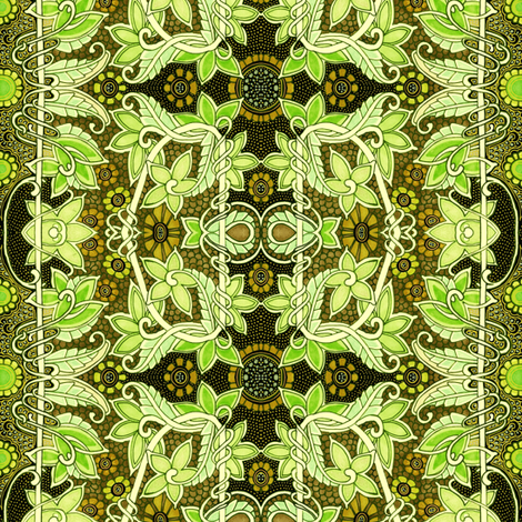 Son of the Sunflower fabric by edsel2084 on Spoonflower - custom fabric