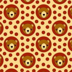 Extra Dotty Bear Cub Polka Dot