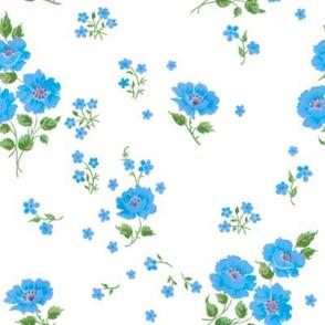 Ingrid in Swedish blue