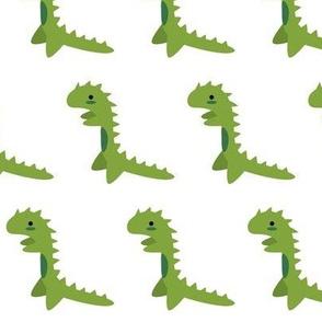 Green Lizard Monster