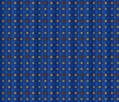 Star Repeat Blue fabric by edmgjones on Spoonflower - custom fabric