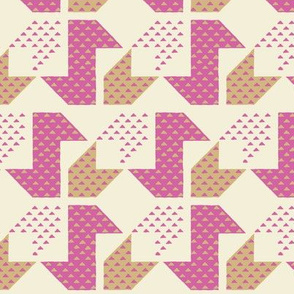 Quadrifoglio_Pink and Sand_M