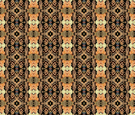 Forest Abundance fabric by ktd on Spoonflower - custom fabric