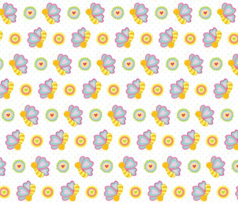 FLOWER-02-01 fabric by prettygrafik on Spoonflower - custom fabric