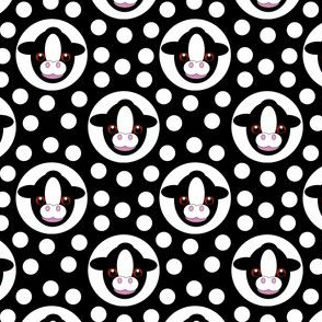 Extra Dotty Calf Polka Dot