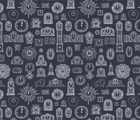 Midnight Blue fabric by seesawboomerang on Spoonflower - custom fabric