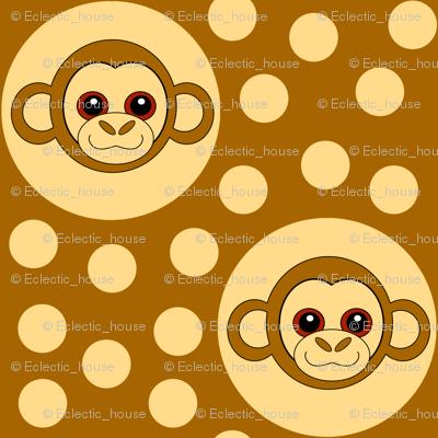 Extra Dotty Monkey Polka Dot