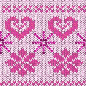 Scandinavian Knitting (Pink)