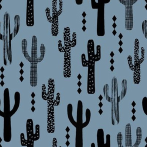cactus blue boys southwest kids trendy nursery baby