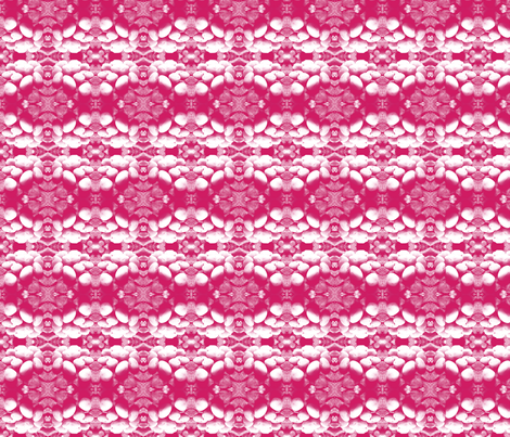Pink Mosaic fabric by pattern_synthesis on Spoonflower - custom fabric