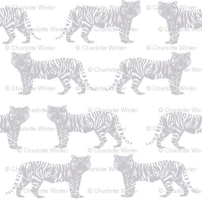 grey tiger geometric nursery